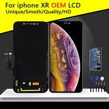 Pantalla LCD Original sin píxeles muertos, montaje de Pantalla táctil 3D, Pantalla de repuesto con herramientas, calidad superior AAA, para iPhone XR