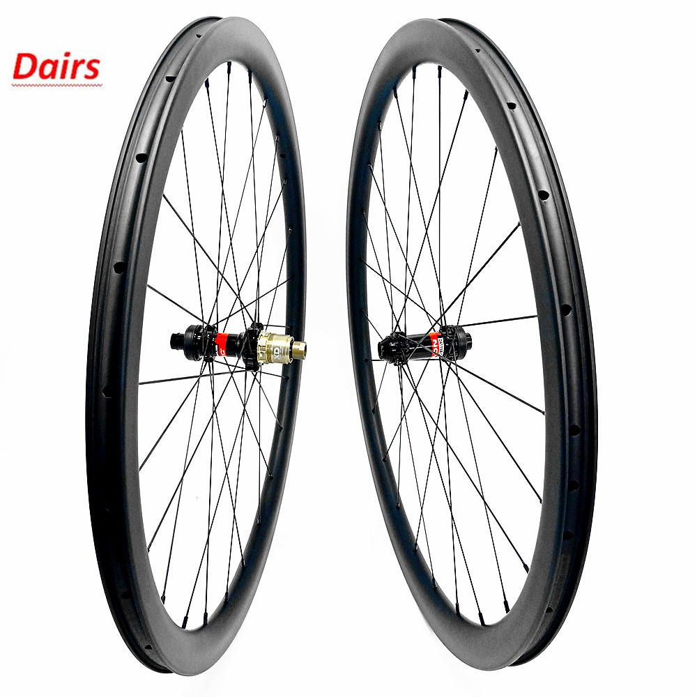 bicycle wheels 700c wheelset 50x25mm clincher tubeless wheelset carbon 100x12 142x12 Disc brake 1670g carbon wheels