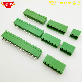 KF2EDGVC 5 08 2P ~ 12P złącze pcb PLUG-IN terminala blok 2EDGVC 5 08mm 2PIN ~ 12PIN MSTBVA 2 5G 1758018 phoenix contact KEFA tanie i dobre opinie NoEnName_Null Rohs CN (pochodzenie) 1-10 KF2EDGVC-5 08 11-20 AWG CHINA BRASS TIN PLATING M2 5 STEEL PLATING CR3+PASSIVATION COLOR ZINC