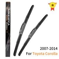 Mikkuppa lâminas de limpador para toyota corolla 2007-2014 par 26