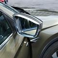 Для Skoda Kodiaq 2017 2018 ABS дверь боковое крыло зеркало заднего вида дождевик защита для бровей зеркало козырек тени автомобильные Стайлинг Аксессу...