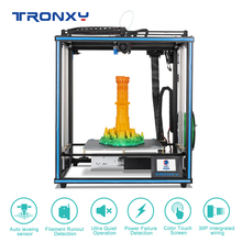 2020 Upgraded 3D Printer Tronxy X5SA Filament Sensor Large Plus Size 330*330mm hotbed Full Metal TFT Touch Screen 3d Printer