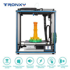 Image 1 - 2020 Upgraded 3D Printer Tronxy X5SA Filament Sensor Large Plus Size 330*330mm hotbed Full Metal TFT Touch Screen 3d Printer