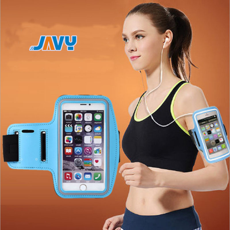 Fashion Workout Sport Gym Arm Band Case For IPhone X XS 11 Pro Max 4 4s 5 6 7 8 6S Plus Holder Waterproof Casual Running Riding