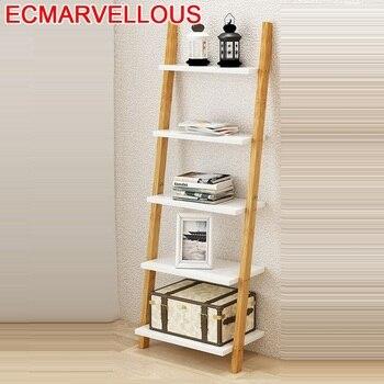 Mobilya-Estantería De pared para libros, mueble De estantería Retro