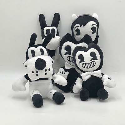 Thriller Game Bendy And The InkMachin Halloween Gift Soft Plush Toy Doll Children's Stuffed Toys