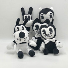 Doll Stuffed-Toys Plush-Toy Bendy Inkmachin Gift Halloween Soft Thriller-Game The And