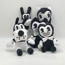 Thriller gioco Bendy And The InkMachin regalo di Halloween morbido peluche bambola giocattoli farciti per bambini