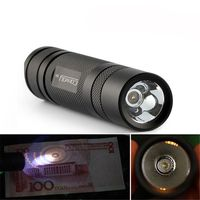 Convoy S2+ Nichia 365nm UV LED 1Mode OP Reflector Flashlight Portable Ultraviolet Torch Fluorescent Agent Detection Displayed