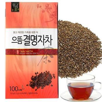100% Pure Natural Cassia Seed T ea 100 bags improve vision /Produced in Korea