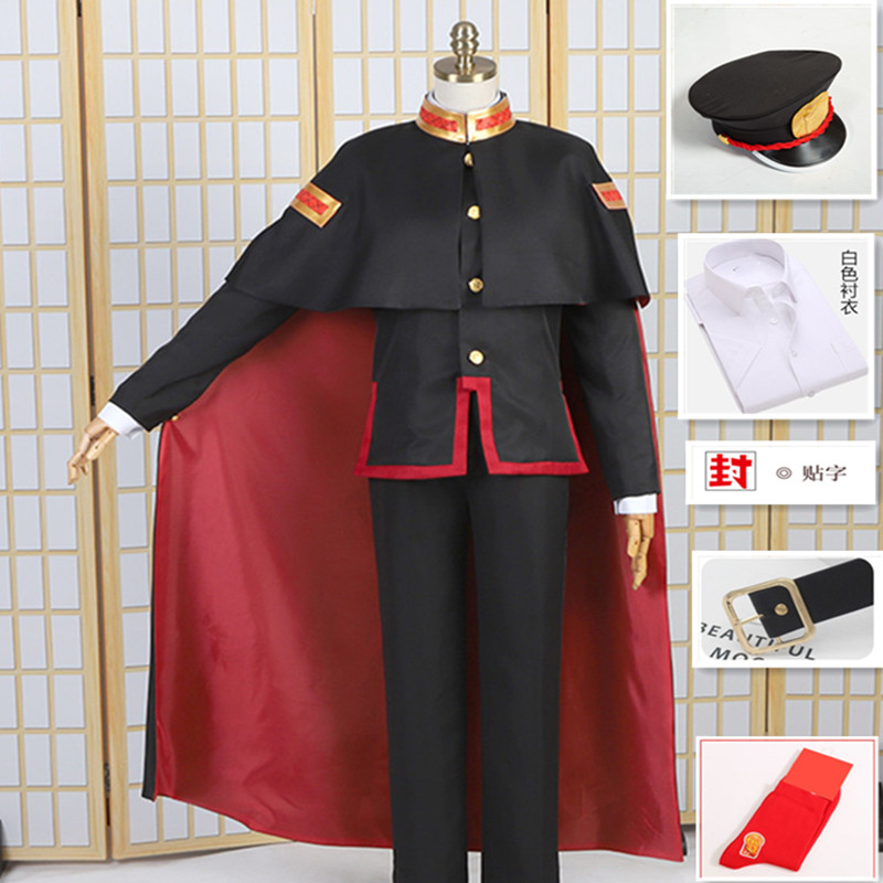 2020  All Set Costume Anime Toilet-bound Jibaku Shounen Hanako-kun Hanako Kun Cosplay Costume Custom-made Yashiro Nene Dress