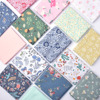 Floral 100% Cotton Fabric For Making Clothes Baby Dress Sewing Bed Sheet Pillow Cover DIY Quilting Child Fabrics