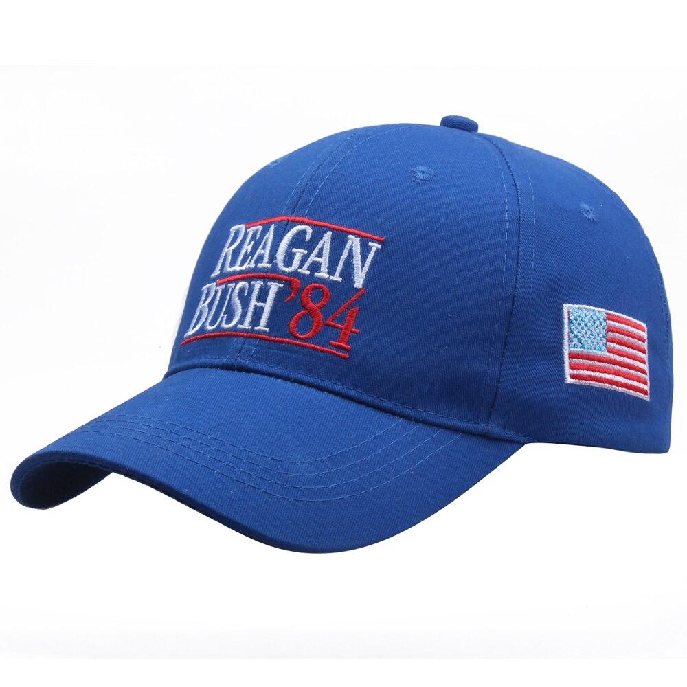 [SMOLDER]New Design Embroidered REAGAN BUSH 84 Unisex Dad Hat Baseball Caps Snapback Cap Gorras