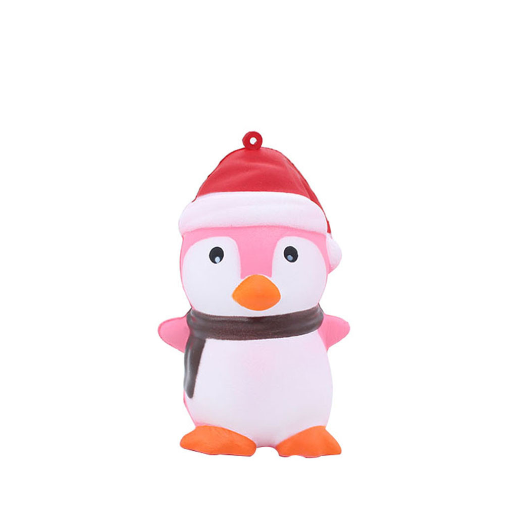 Super Cute Penguin Antistress Toy Children Interesting Christmas Gifts Cartoon Decoration Doll Stretchy Healing Toys Kids Toys#A