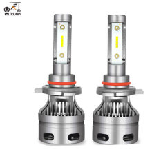 Fuxuan 2 шт мини h7 h4 светодиодный автомобильный фонарь h11
