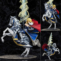 30cm Fate Stay Night Saber Lancer Prince Riding Horse Saber Alter Anime figure Toys PVC Altria Action Figure Model Collection