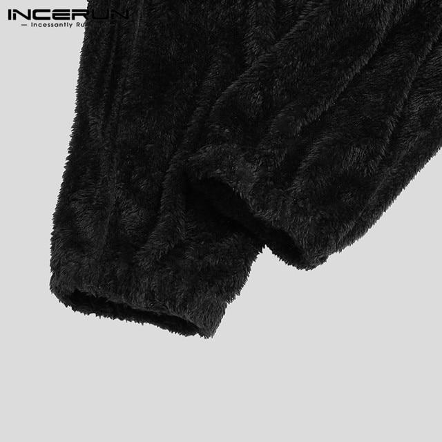 Hooded Fleece Onesie For Men 4