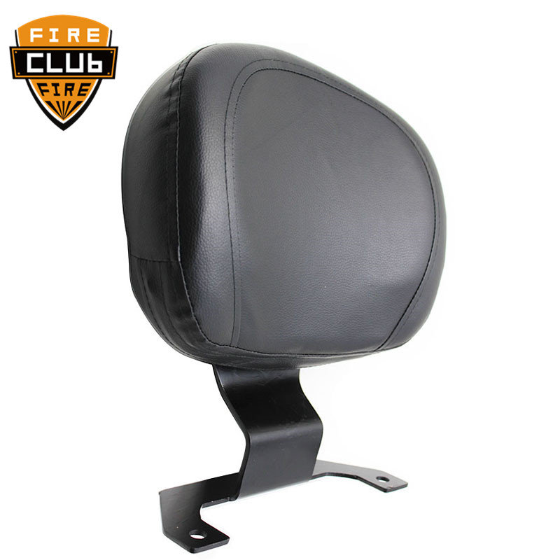 Motorcycle Leather Driver Rider Sissy Bar Seat For SUZUKI M109R For Driver Backrest Back Rest
