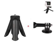 Universal Mobile phone Mini Tripod for Go pro 7 6 5 4 3 DJI OSMO ihoneX 8 Plus Xiaomi9 Note Huaweis Action Camera Holder