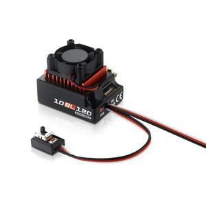 Image 1 - Hobbywing contrôleur de vitesse électrique ESC sans balais, pour voiture RC 60a/120a, capteur, sans balais, pour 1/10 1/12 RC, accessoire de voiture