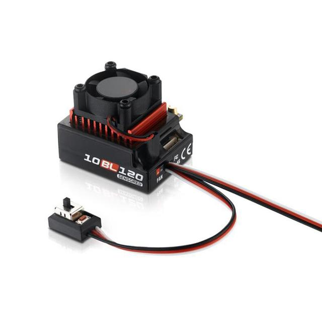 Hobbywing contrôleur de vitesse électrique ESC sans balais, pour voiture RC 60a/120a, capteur, sans balais, pour 1/10 1/12 RC, accessoire de voiture
