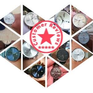 Image 5 - นาฬิกาผู้ชาย2020โมเดิร์นหนังผู้ชายนาฬิกาข้อมือควอตซ์Casual Businessนาฬิกาข้อมือบุรุษแบรนด์Belushiนาฬิกา