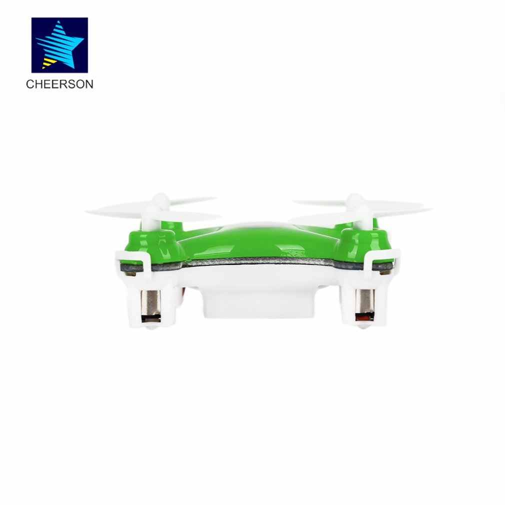Mini RC Drone helicóptero Radio avión modo sin cabeza Drone Quadcopter Mini para Cheerson CX-10 6 ejes de juguete de Control remoto para chico
