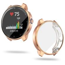 Cover Garmin Sq/vivoactive Case Shell-Accessories Screen-Protector Music-Watch Lightweight