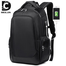 Bag Male Korean Leisure USB Backpack Air-permeable and Wear-resistant Business Computer Travel Student