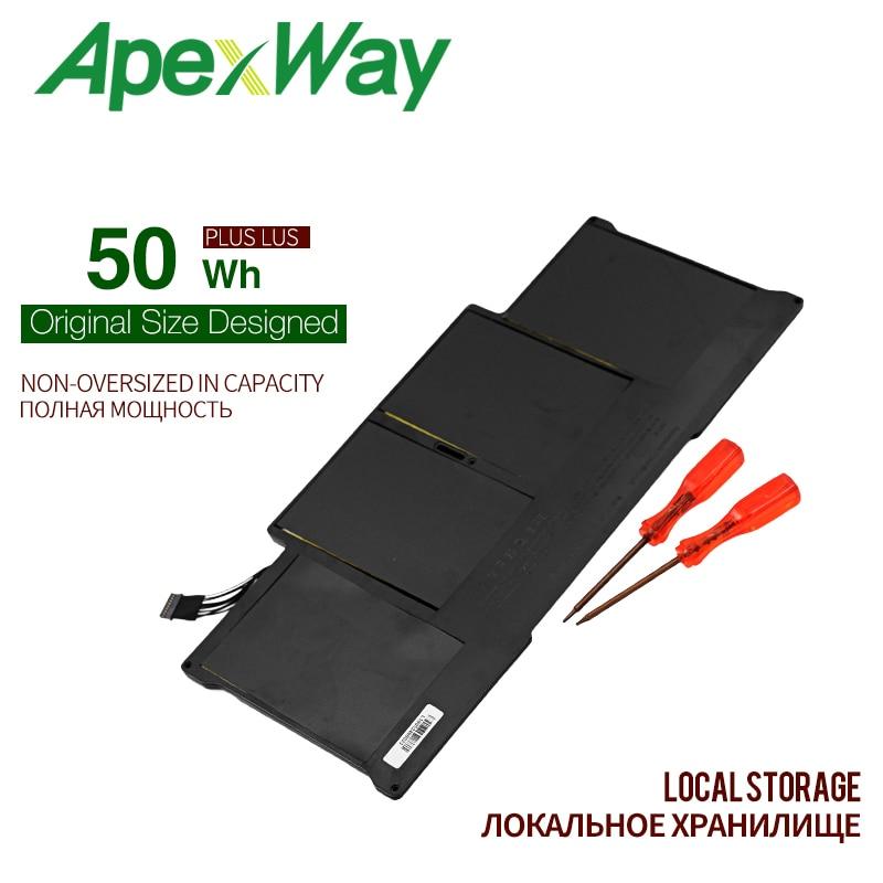 Apexway vente en gros nouvelle batterie d'ordinateur portable pour Apple MacBook Air 13