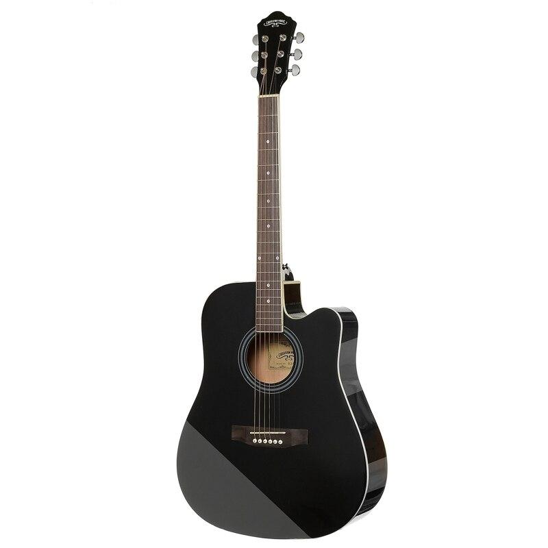 Guitar Acoustic CARAVAN MUSIC HS-4111 BK afanti music electric guitar amplifier amp 108