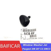 Новая Оригинальная Форсунка для омывателя переднего стекла Baificar 6438AV для Peugeot 206 207 C2 206CC