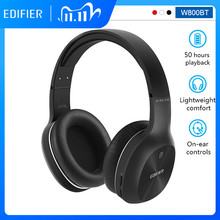 EDIFIER W800BT Wireless Bluetooth Headphones Bluetooth v4.0 40mm Drivers Unit Up to 50 hours Using Battery Stereo HIFI Headset