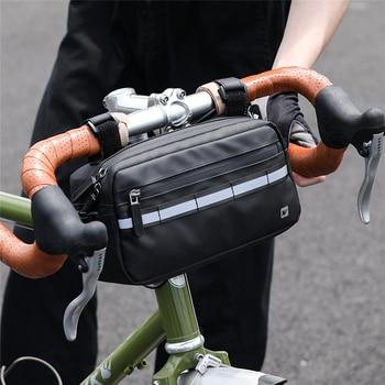 Rhinowalk Handlebar Bag Bicycle Bag Frame Pannier Bag Waterproof Multifunction Portable Shoulder Bag Cycling Bag Bike Accessorie