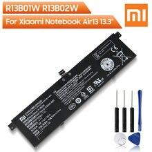 Bateria de substituição original r13b01w r13b02w de xiao mi para xiaomi mi notebook ar 13 13.3