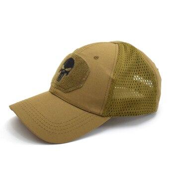 Tactical Military Airsoft baseball Cap army Hat Mesh Hunting Hiking Adjustable Breathable kxs12061 4