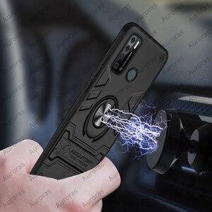 Чехол Auroras для Tecno Power 4 Pro, противоударный армированный чехол с кольцом держателем для магнетизма, чехол для Power 4|Бамперы|   | АлиЭкспресс