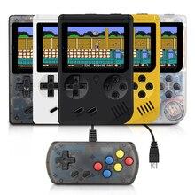 RS 6A çocuk Retro Mini taşınabilir elde kullanılır oyun konsolu oyuncular 3.0 inç 168 dahili klasik FC oyunları el oyun oyuncu