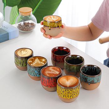 Kreatywny Espresso podróżny kubek na kawę kubek do herbaty porcelanowe filiżanki chiński Kung Fu kubek szklanka o dużej pojemności kubki i kubki Caneca tanie i dobre opinie CN (pochodzenie) ceramic kubki do kawy W stylu japońskim ze spodkiem None Mugs Coffee mug 37 Na stanie Big Capacity Drinkware