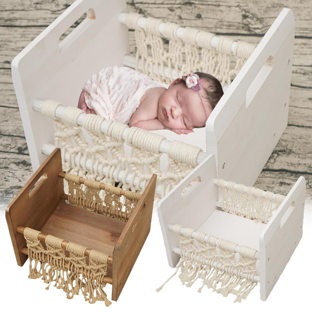 Newborn Props For Photography Wood Bed Newborn Posing Baby Photography Props Photo Studio Crib Props For Photo Shoot Posing Sofa
