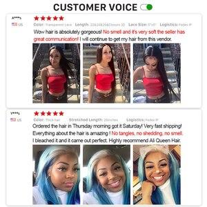 "Image 5 - Ali Queen Hair Brazilian Straight Raw Virgin Hair Bundles Natural Black Color 6"" to 38"" 100% Unprocesse Human Hair Weaving"