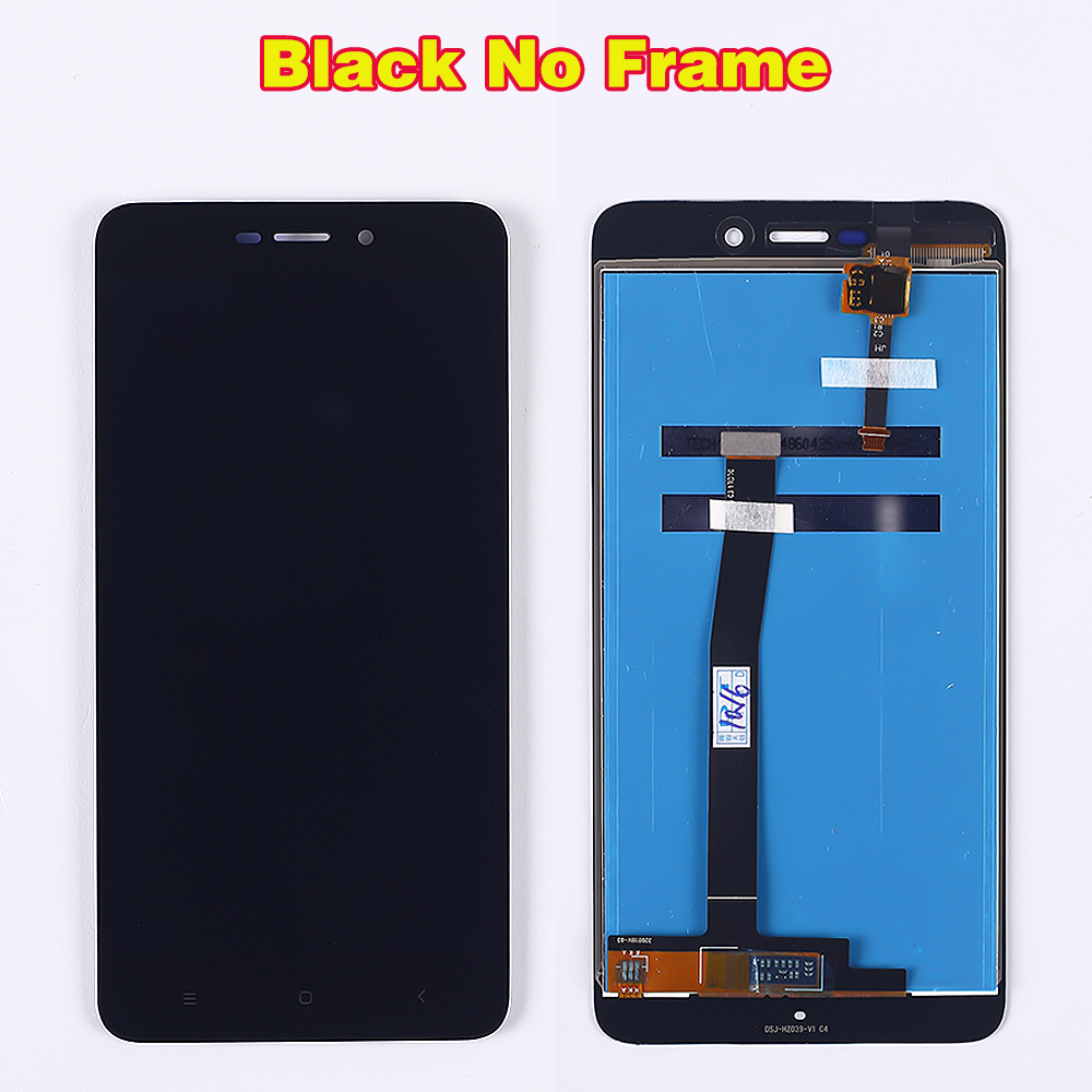 100 Tested LCD display For Xiaomi Redmi 4A 5 0 inch Touch Screen 1280 720 Digitizer 100% Tested LCD display For Xiaomi Redmi 4A 5.0 inch Touch Screen 1280*720 Digitizer Assembly Frame with Free Tempered Glass
