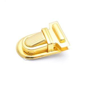 Image 5 - Kostenloser Versand 10 Sets Silber Ton Antiken Bronze Handtasche Tasche Zubehör Geldbörse Snap Verschlüsse/Verschluss Lock 22mm x 34mm