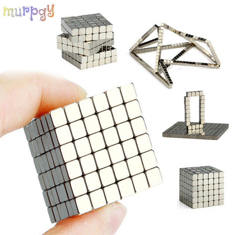 216Pcs 3MM Super Assemble Magnet Blocks Magnetic Balls DIY Creative Cube Puzzle Kids Educational Toys Bulding Toys For Child