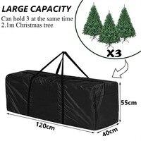 Saco de armazenamento para árvore de natal extra grande impermeável ao ar livre móveis almofadas árvore de natal saco de armazenamento para roupas brinquedo