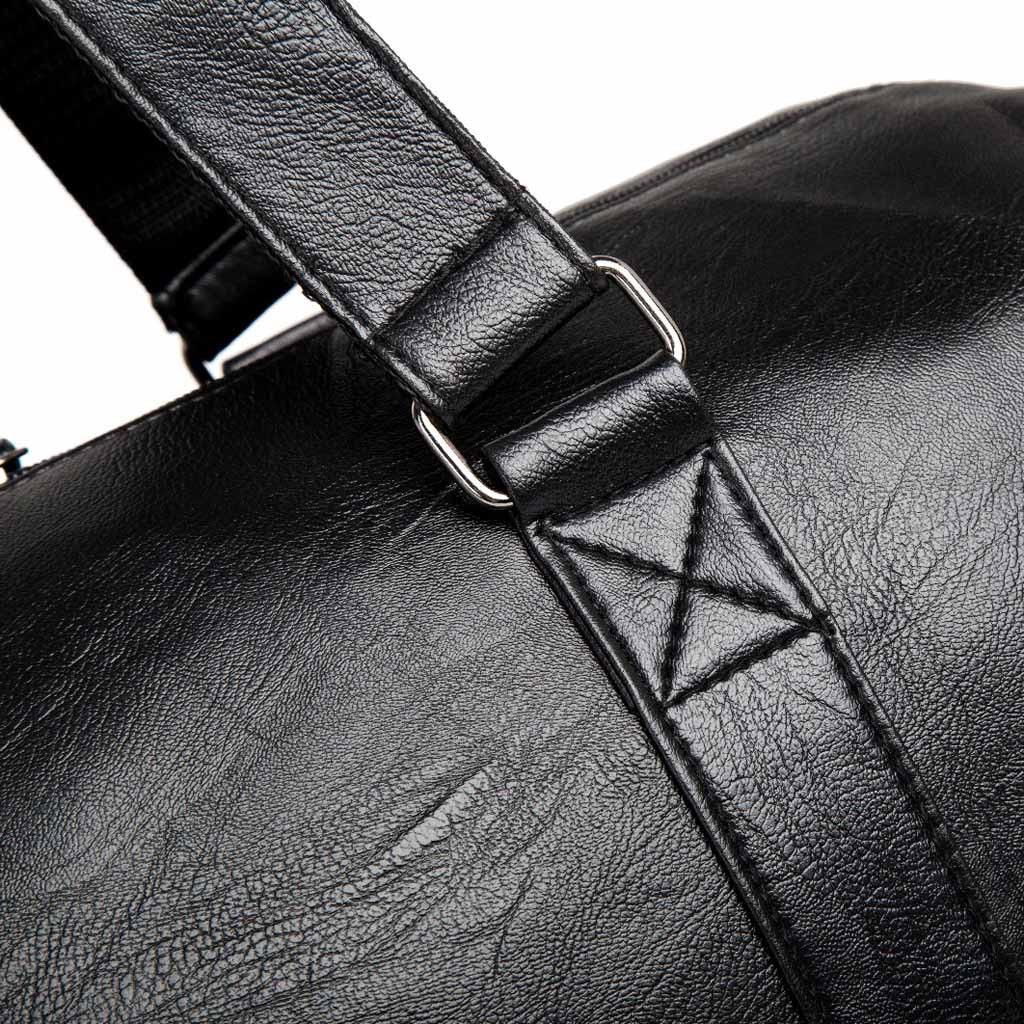 com sapatos bolsas para homens viagem mochila