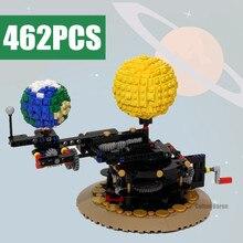 Bricks Toys Solar-System Creator Technical Sun-Orrery-Model Idea Building-Blocks WORLD