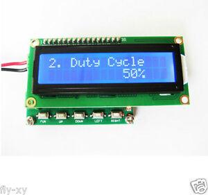 Pulse Signal Generator 1Hz ~ 100KHz PWM Module Servo Signal Duty Cycle 1 ~ 99%
