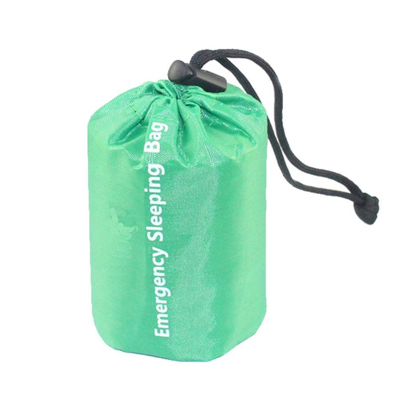 Emergency Sleeping Bag Emergency First Aid Sleeping Bag Film Tent For Outdoor Camping and Hiking Sun Protection Survival Travel