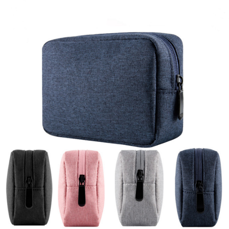 Digital Gadget Bag Multifunctional USB Data Cable Earphone Power Bank Phone Carry Pouch Travel USB Cable Bag